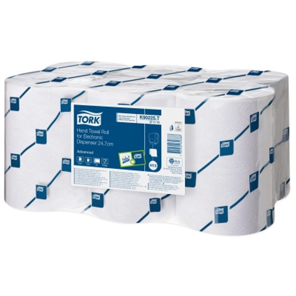 Tork 471110 Enmotion Hand Towel Roll - White 2ply (6 rolls)