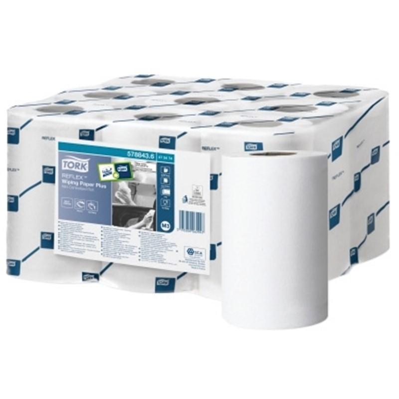 Tork-Mini-Reflex-Paper-Rolls-2ply--200-sheet-x-9-rolls-