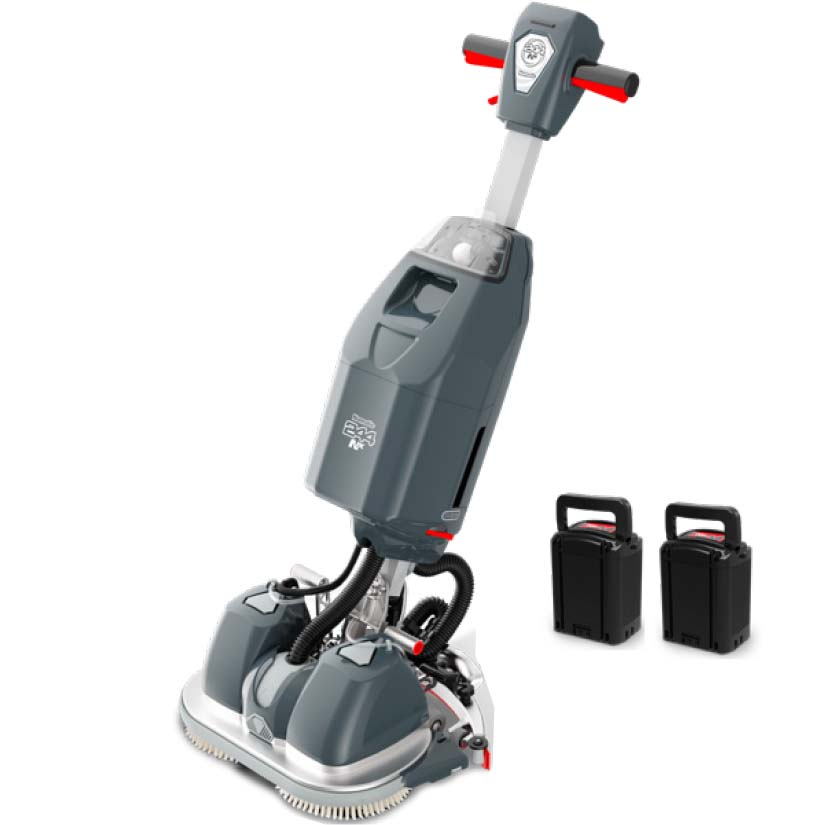Numatic-244NX-Scrubber-Dryer-Machine-with-2-batteries