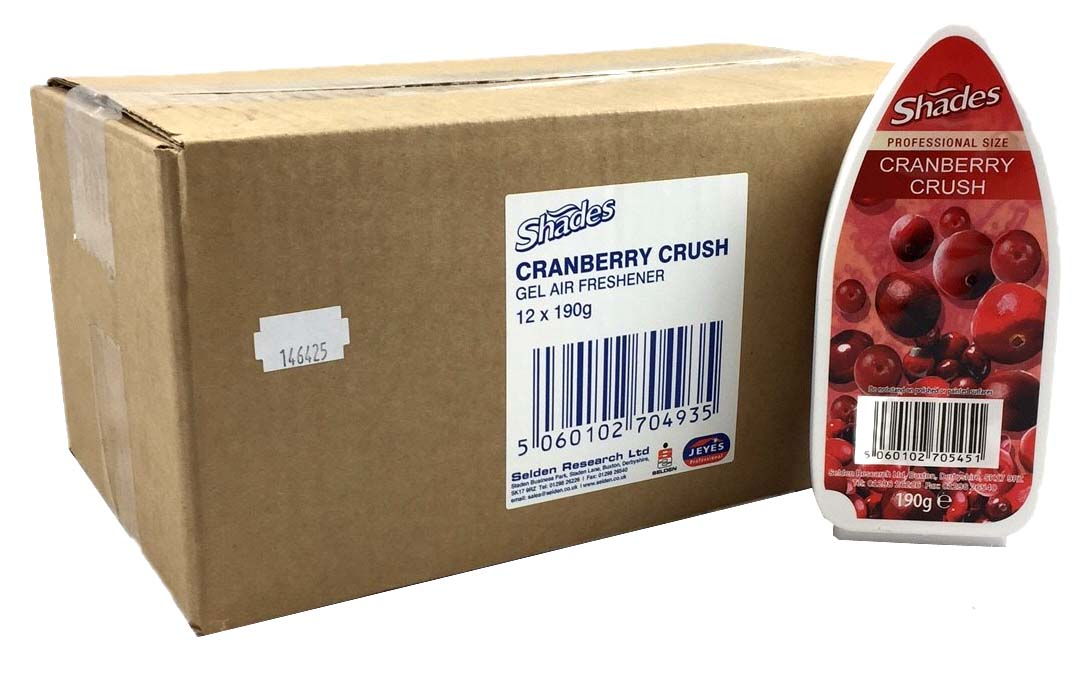 Shades Gel Air Freshener (12) CRANBERRY CRUSH