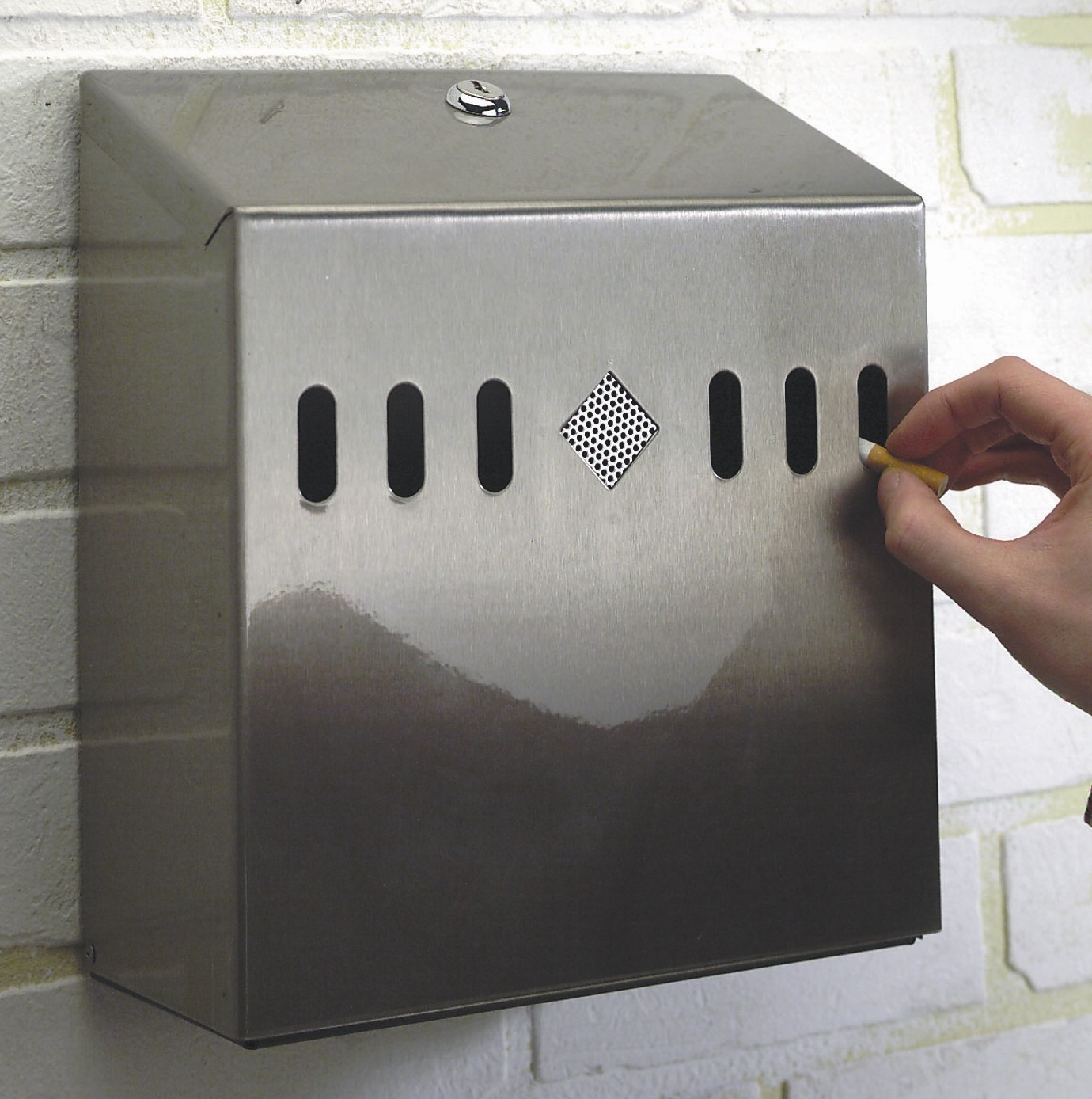 Wall Mounted Ashtray (outdoors)