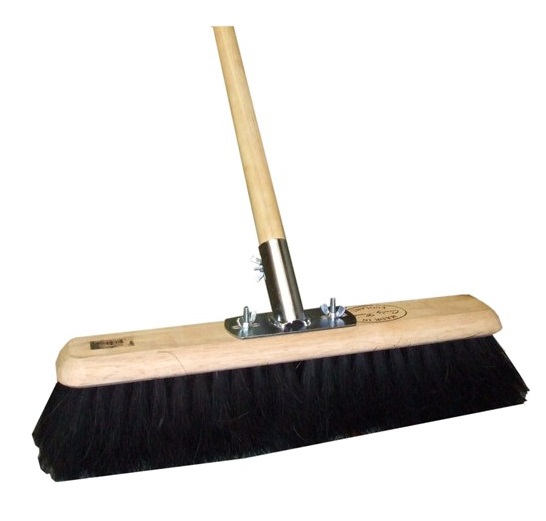 18-inch Soft Coco Platform Broom (Head/Handle/Socket)