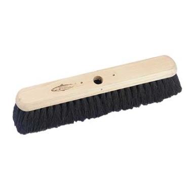 18-inch Platform Broom Black Coco