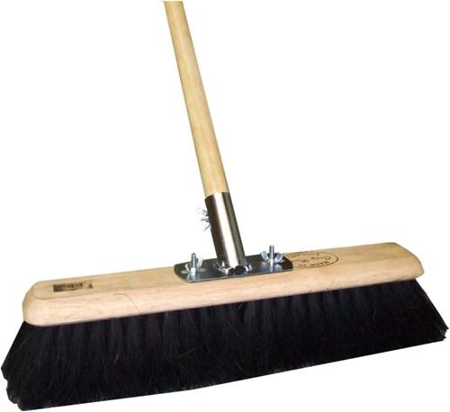 24-inch Soft Coco Platform Broom (Head/Handle/Socket)