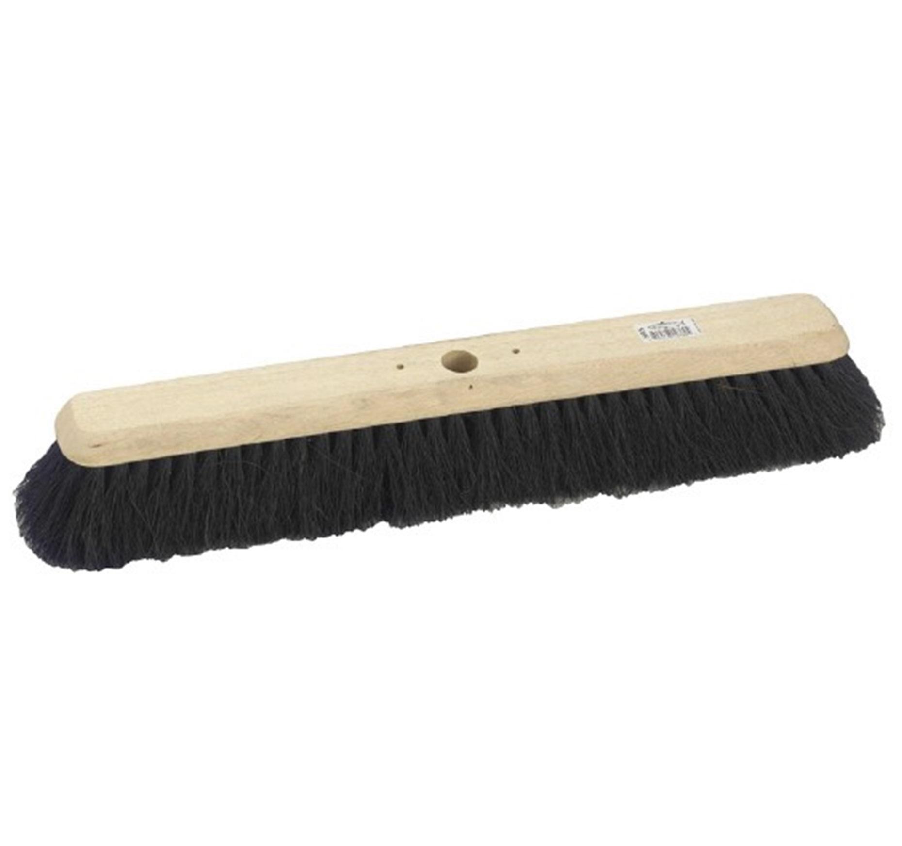24-inch Platform Broom Black Coco Head