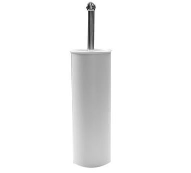 Modern-Toilet-Brush---Holder-White