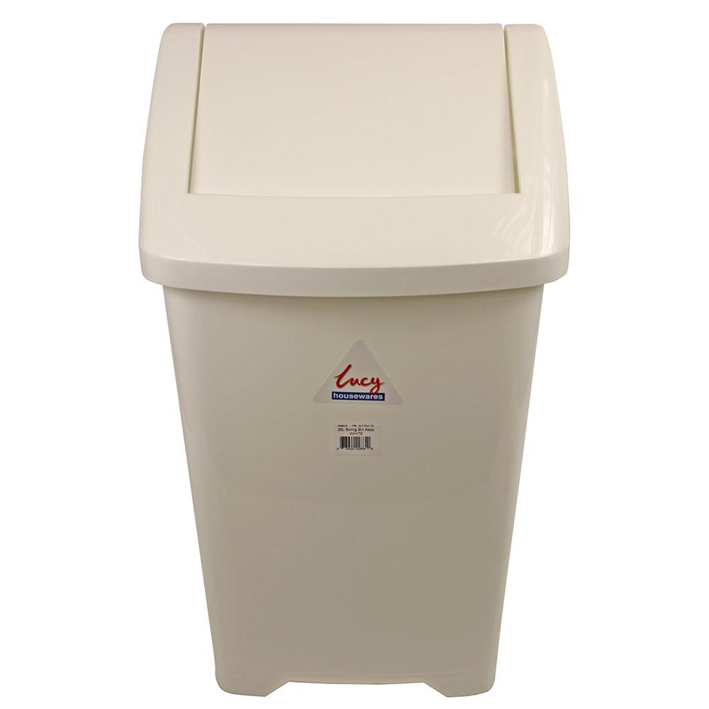 -Lucy--White-Plastic-Swing-Bin-36-litre