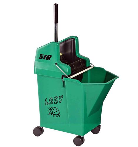 Lady Combo with 2-inch Castors - GREEN