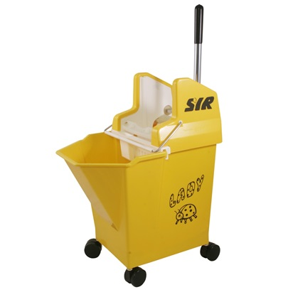 Lady Combo with 2-inch Castors - YELLOW