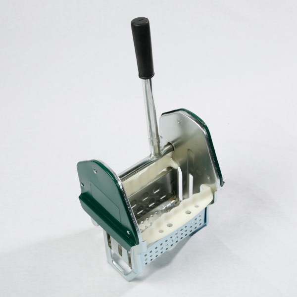 Heavy Duty Steel Mop Wringer - green side panel
