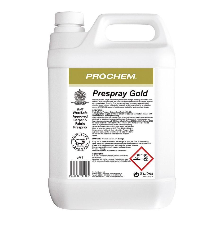 Prochem Prespray Gold 5litre