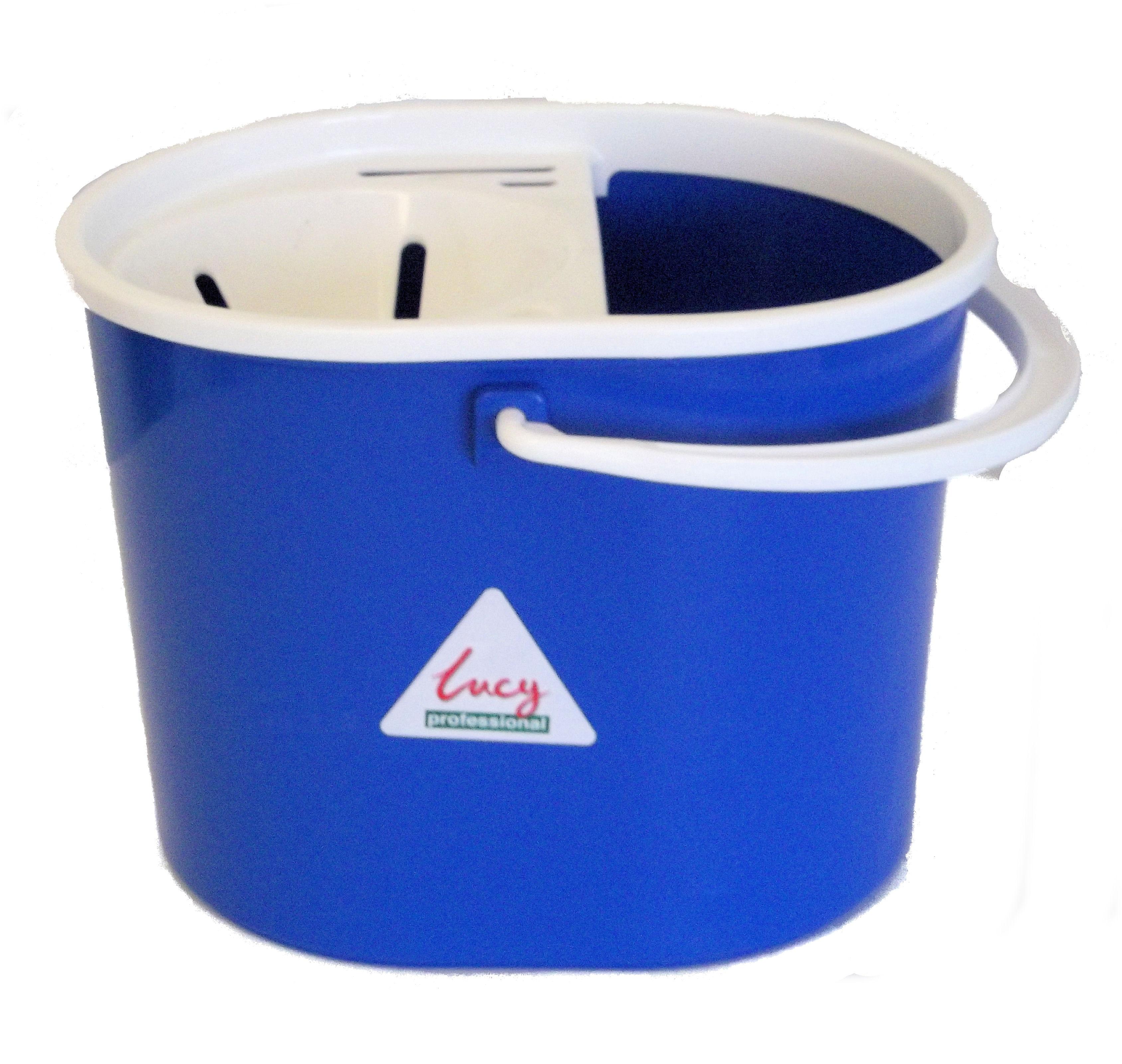 Lucy Oval Mop Bucket BLUE
