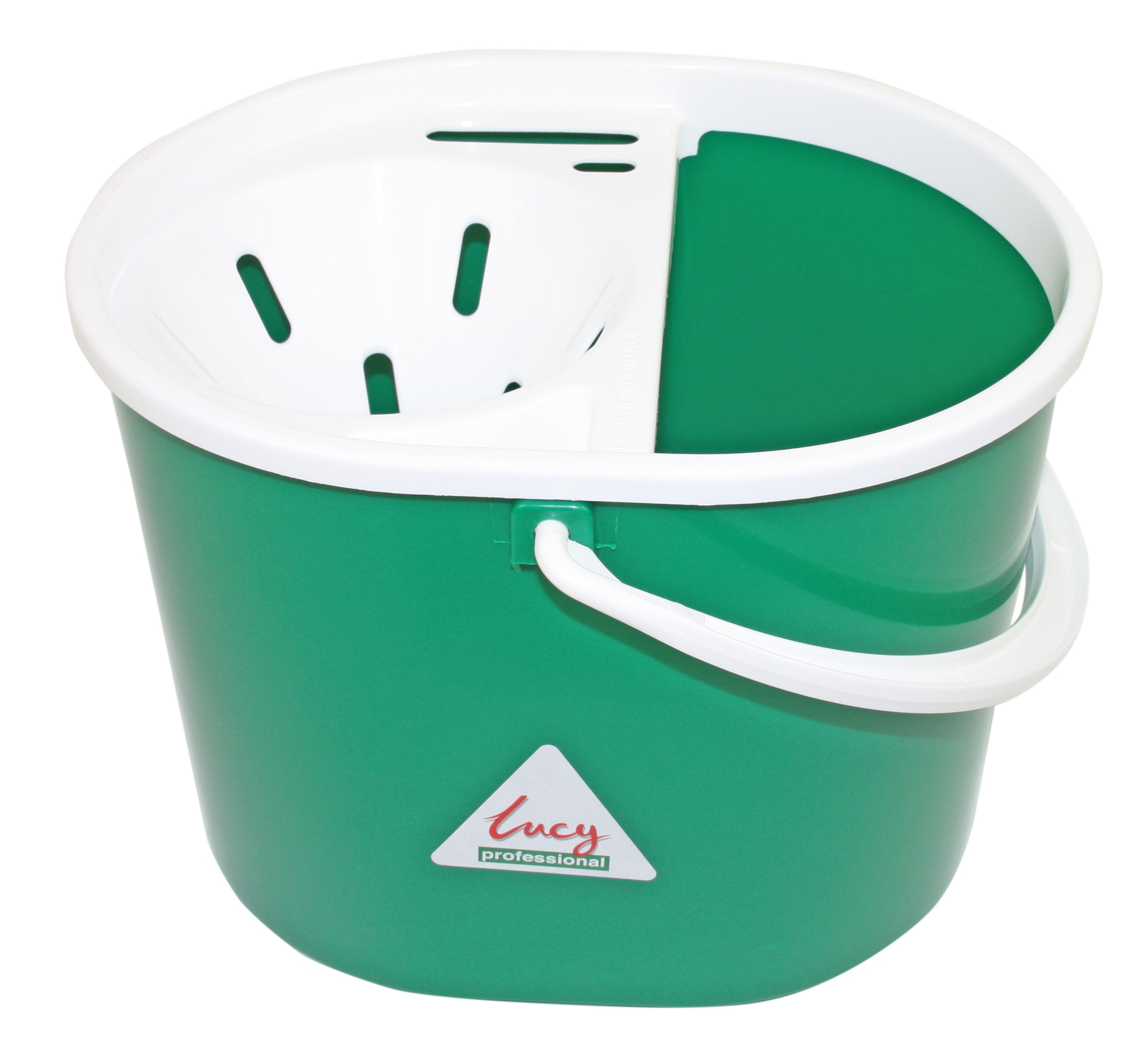 Lucy Oval Mop Bucket GREEN
