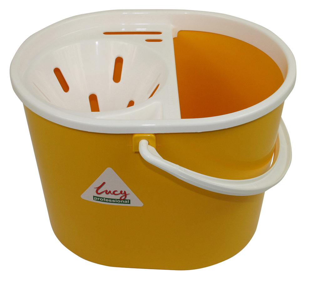 Lucy Oval Mop Bucket YELLOW