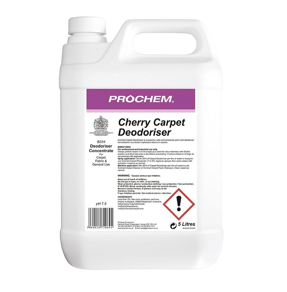 Prochem Cherry Carpet Deodoriser 5litre