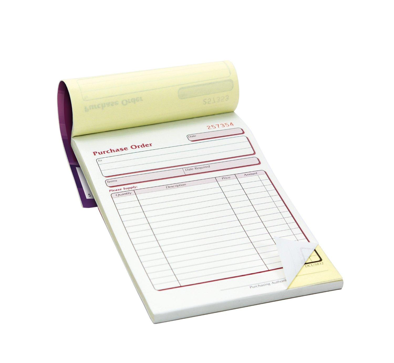 Order Pads Duplicate (100 per case)