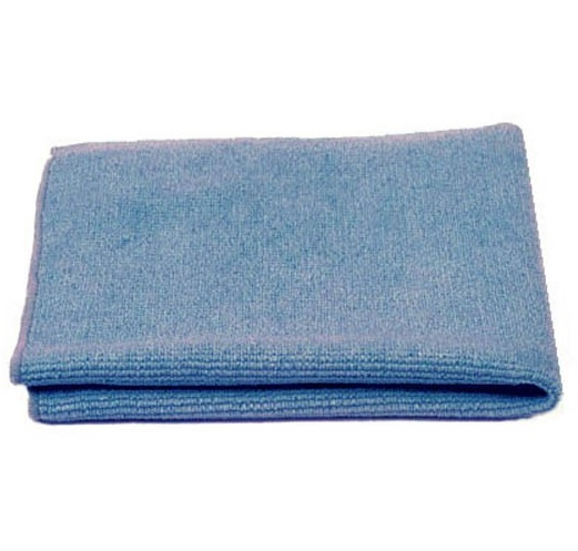 Microfibre Cloths 40x40cm (pk 10) BLUE