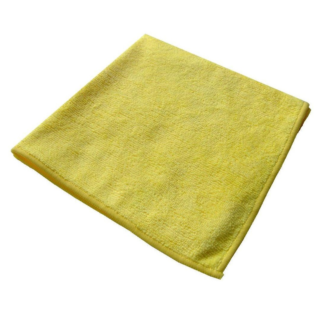Microfibre-Cloths-40x40cm--pk-10--YELLOW