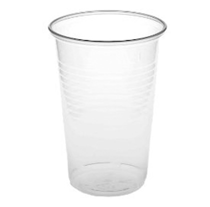 7oz Plastic Cups TALL (pk 3000) - CLEAR