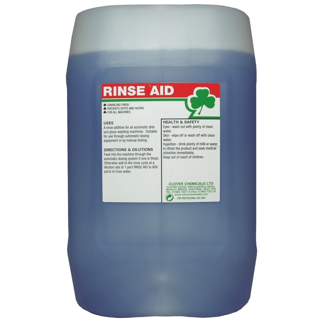 Clover RINSE AID 20litre