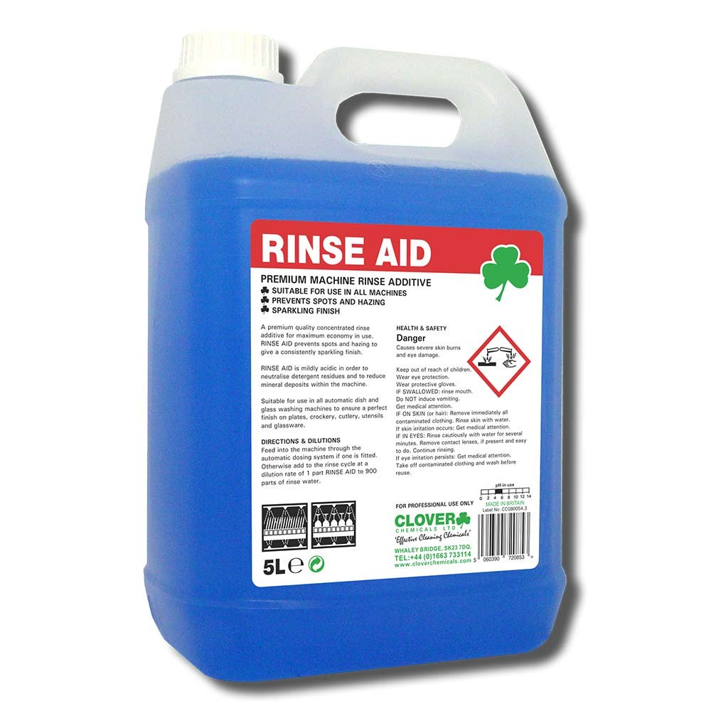 Clover-RINSE-AID-5litre