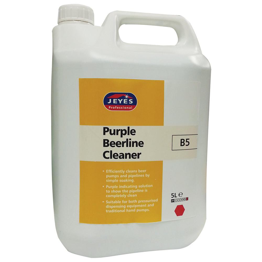 Jeyes Purple Beer Line Cleaner (B5) 5litre