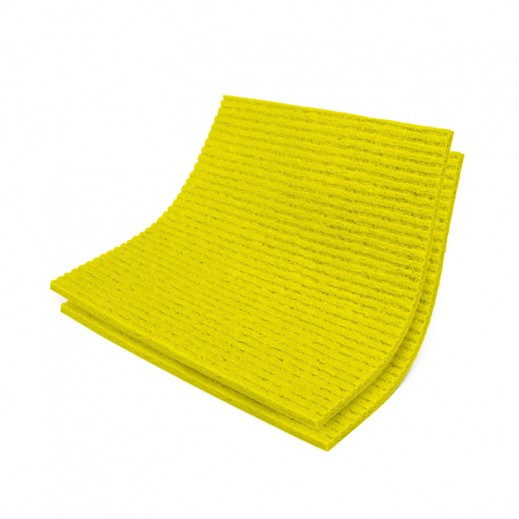 Vileda Sponge Cloths YELLOW pack of 5