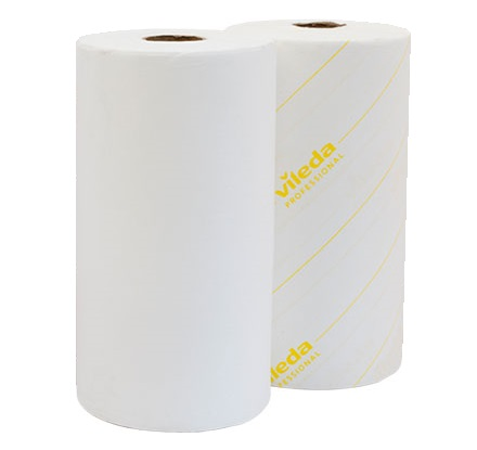 Vileda MicronSolo Roll YELLOW 180sh/roll (case of 4 rolls)
