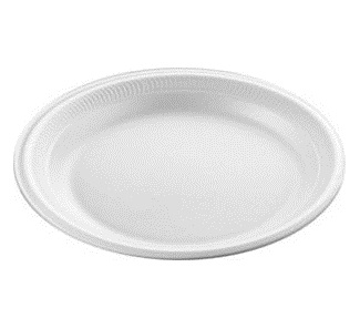 Polystyrene Plates 9-inch (6x100)