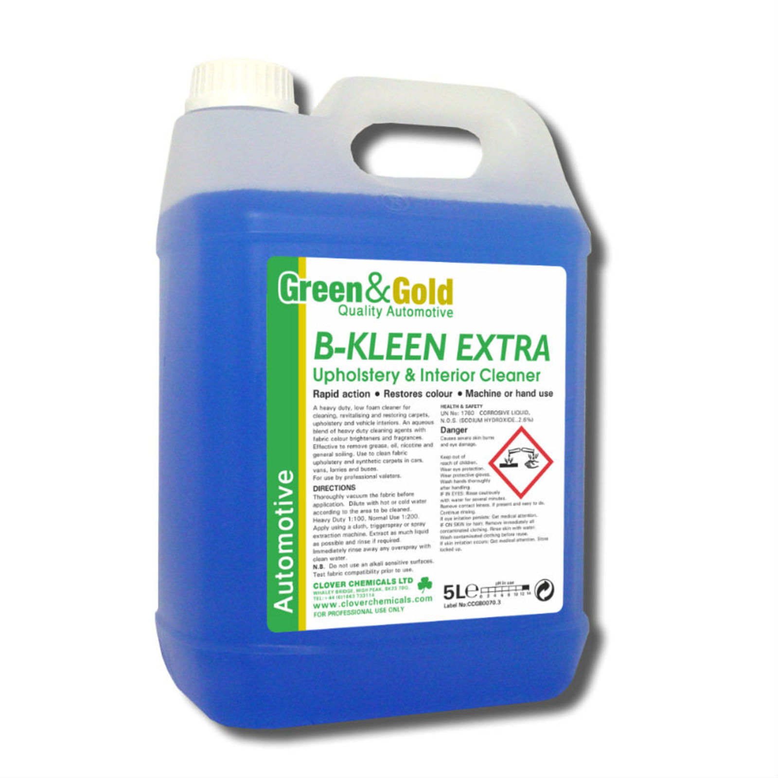 B-Kleen Extra - H.D. Upholstery and Interior Cleaner