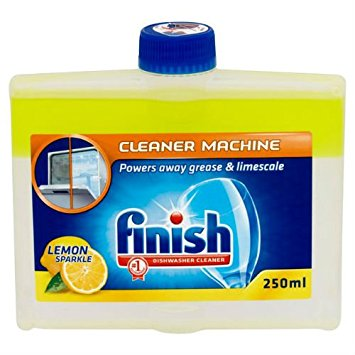 Finish Dishwasher Lemon Cleaner 4x250ml