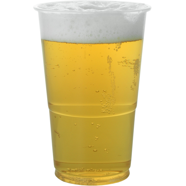 Flexi Plastic Half-pint Glasses (1250) (CE Stamped)