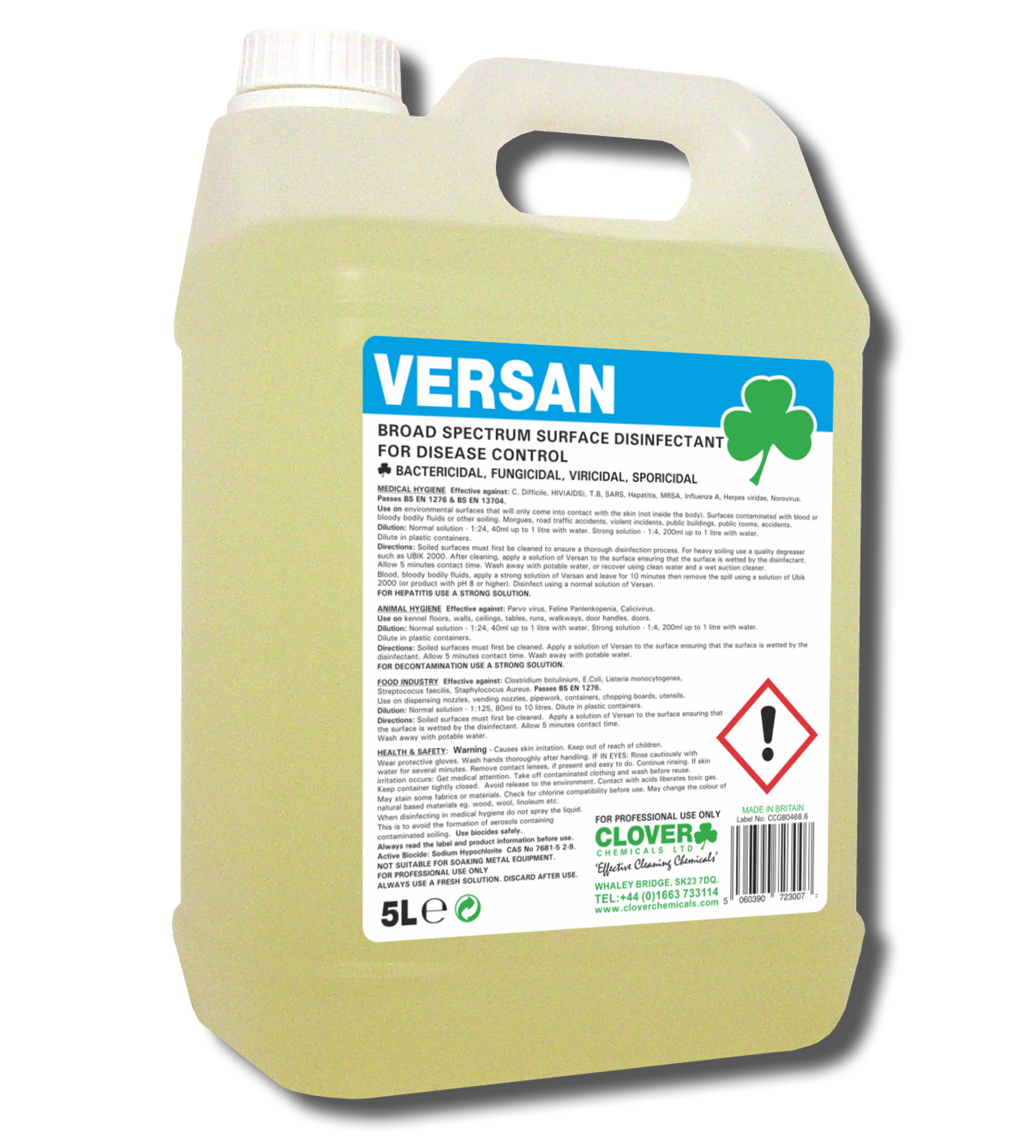 Versan - Surface Disinfectant 5litre