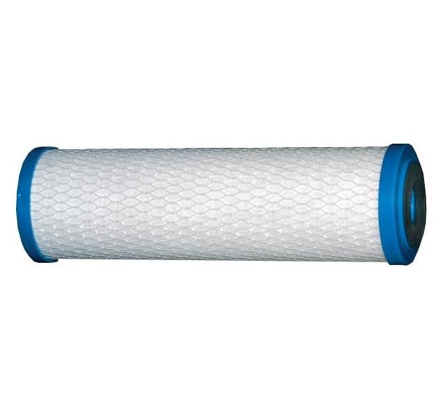 10-inch Carbon Cartridge - 5-micron block