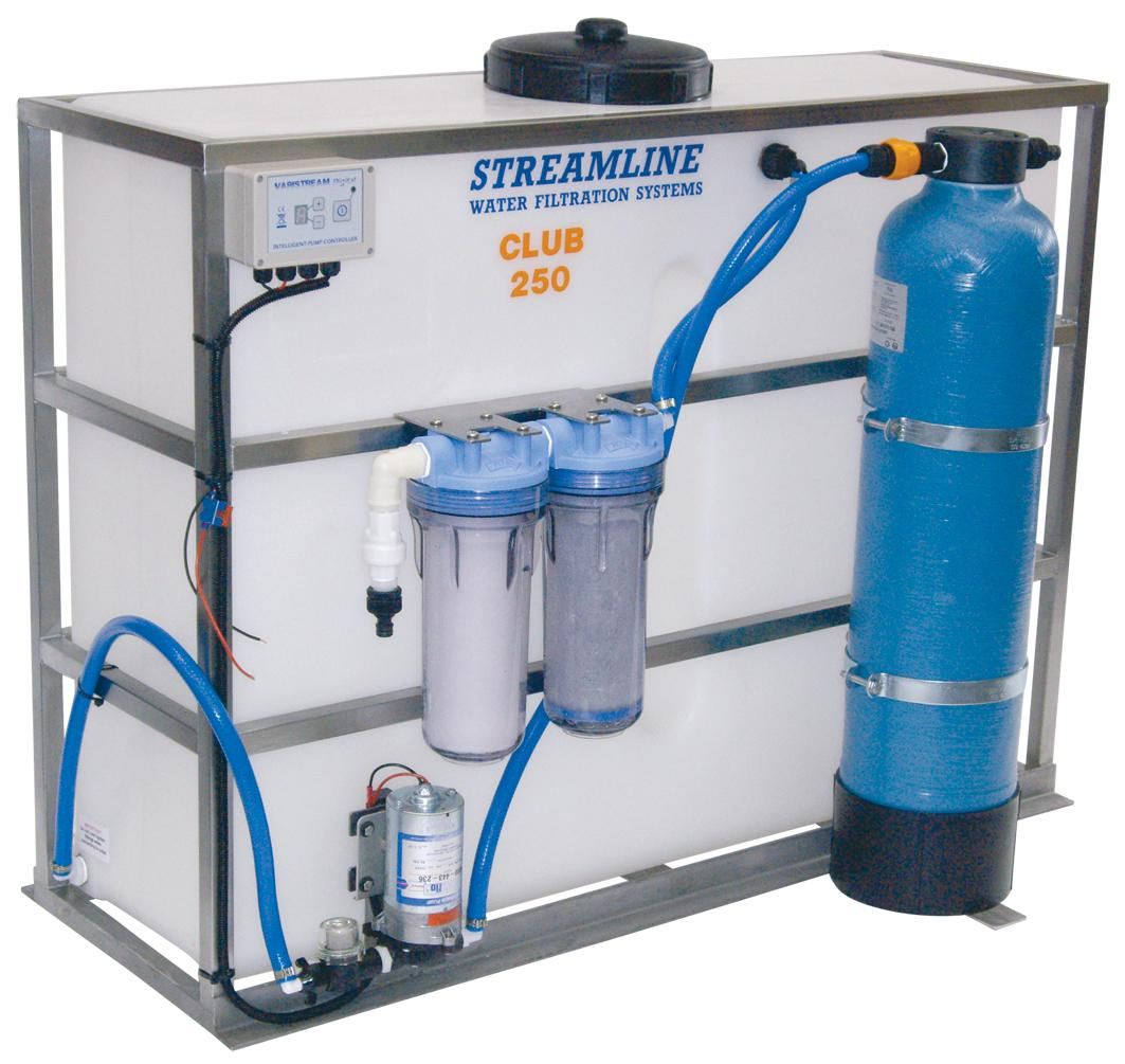 250 Ltr Resin Bead Filter System