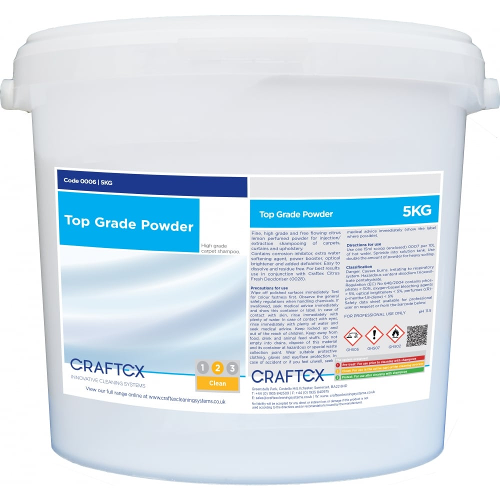 Craftex Top Grade Powder 5kg