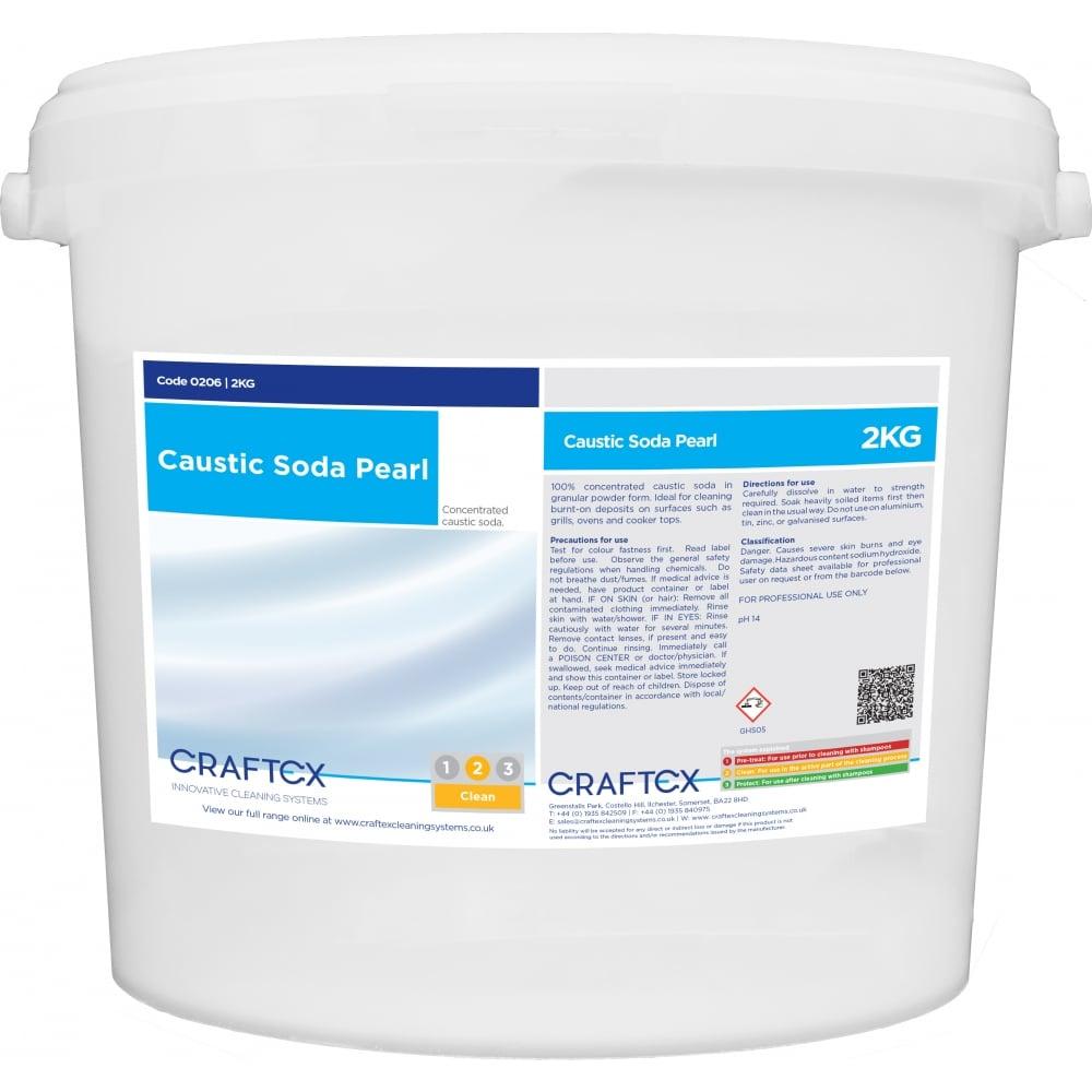 Craftex Caustic Soda Pearl 2kg
