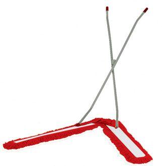 SYR-V-Sweeper-Dustrol-Mop-COMPLETE--handle--head---sleeves-