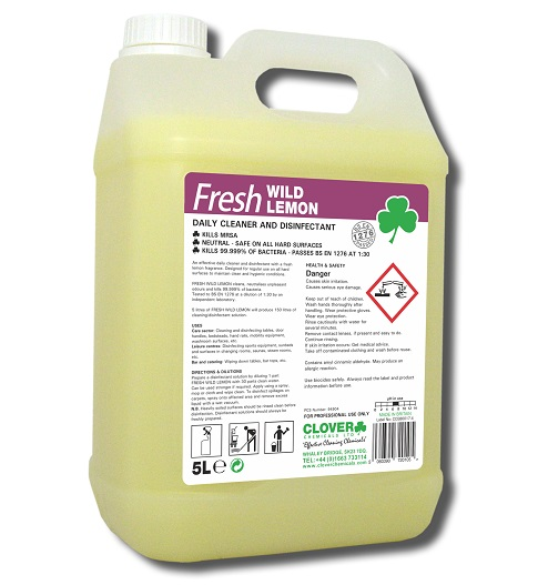 Fresh Wild Lemon Daily Cleaner & Disinfectant 5litre