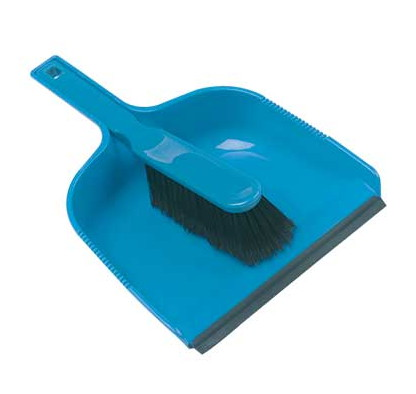 Open-Dustpan---Soft-Brush-set---BLUE