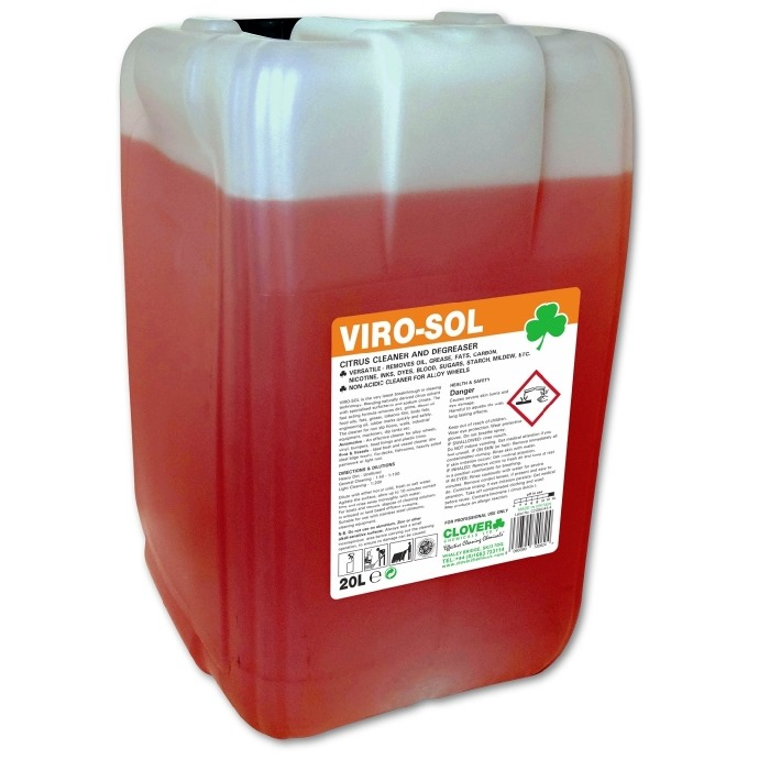 Virosol Cleaner and Degreaser 20-litre Drum | Complex Cleaning ...