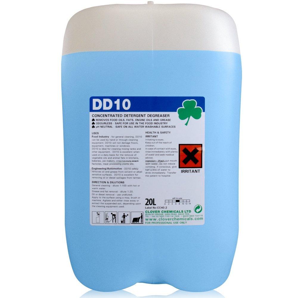 20 litre - DD10 Detergent Degreaser