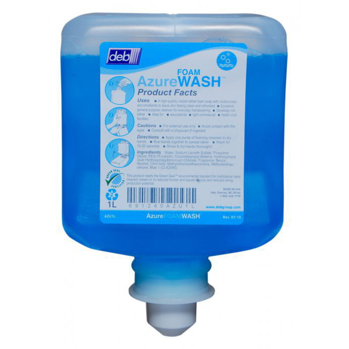 Deb-Refresh-Azure-Foam-Hand-Wash-6x1L--AZU1L-