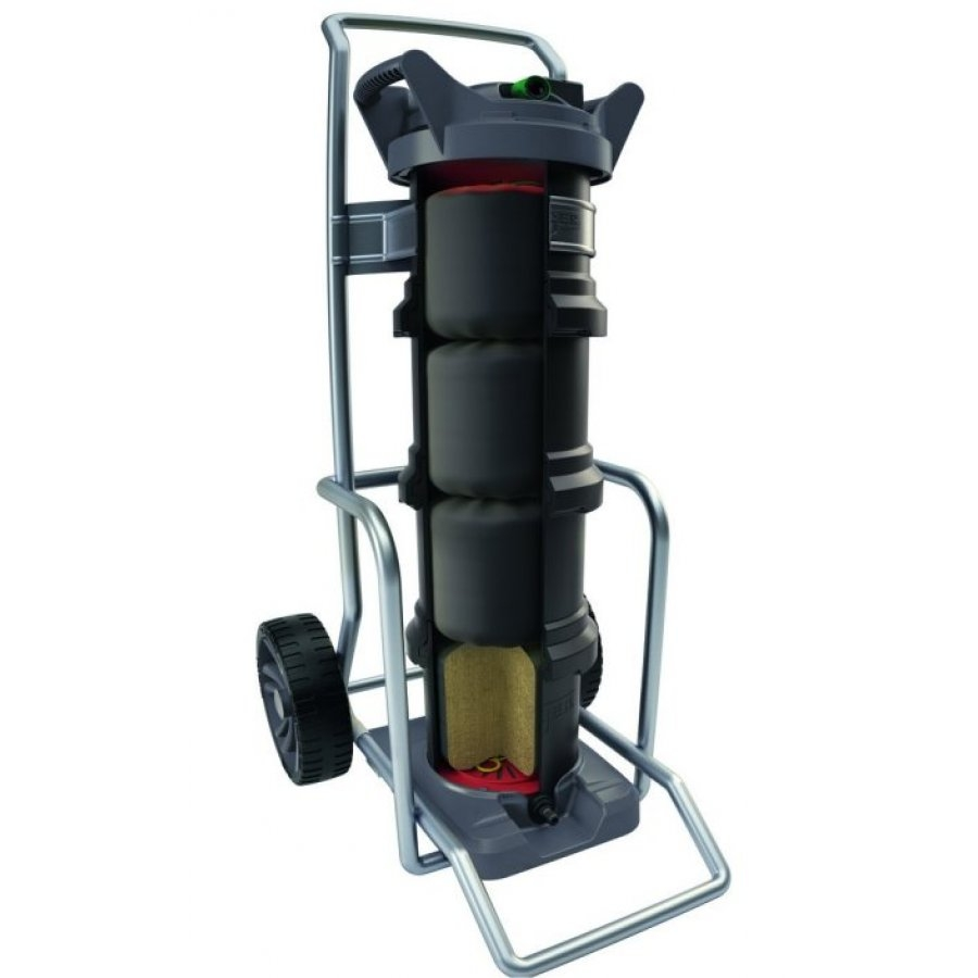 Unger-nLite-Hydro-Power-DI-Filter-24litre--with-mobility-cart