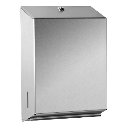 Brushed Stainless Steel C-fold Dispenser