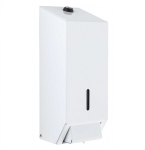 White Metal Bulk Fill Soap Dispenser 1litre (50258WH)