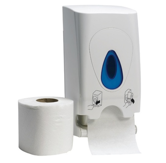 Modular Two-Roll Conventional Toilet Roll Dispenser