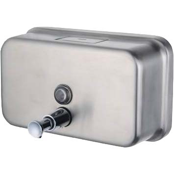 Stainless-Steel-Bulk-Fill-Horizontal-Soap-Dispenser-1.2L