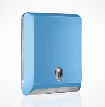 Soft-Line-BLUE-Z-fold-Hand-Towel-Dispenser