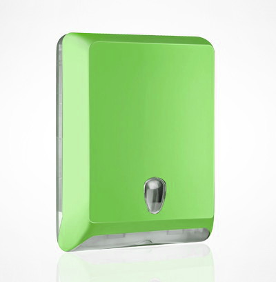 Soft-Line-GREEN-Z-fold-Hand-Towel-Dispenser
